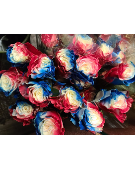 PATRIOT ROSES Flower Arrangement