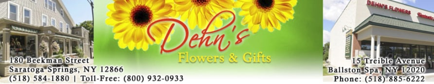 Saratoga springs florist flower delivery by dehns flowers lets celebrate mightylinksfo