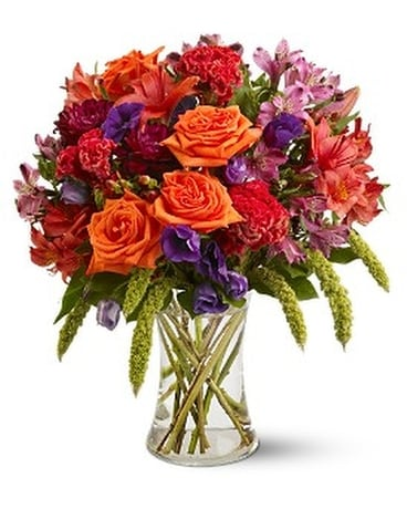 Autumn Gemstones Flower Arrangement