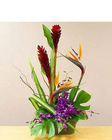 Tropical Heat Flower Arrangement