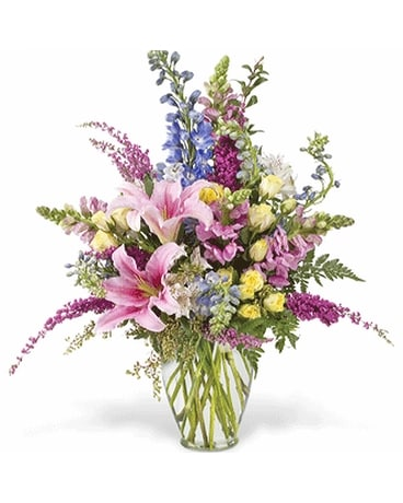 Garden Festival Flower Arrangement