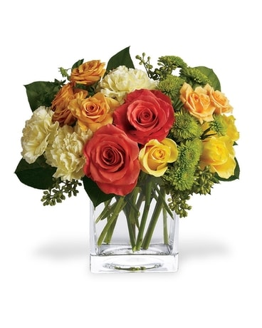 Sweet As Citrus Flower Arrangement