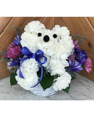 Flower Puppy Flower Arrangement
