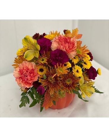 Petite Pumpkin Bouquet Flower Arrangement