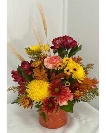 Falling Leaves Bouquet Flower Arrangement