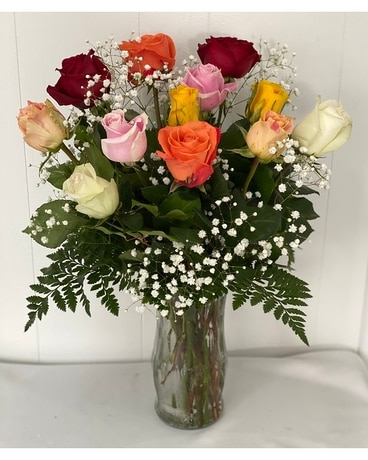 Rainbow Treasure Flower Arrangement