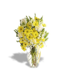 Spring Sunrise Flower Arrangement