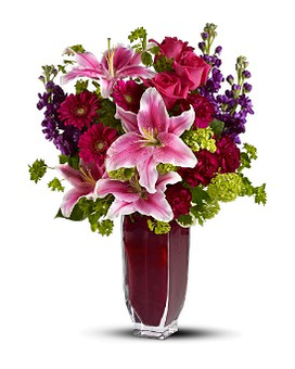 Teleflora's Cheek to Cheek Flower Arrangement