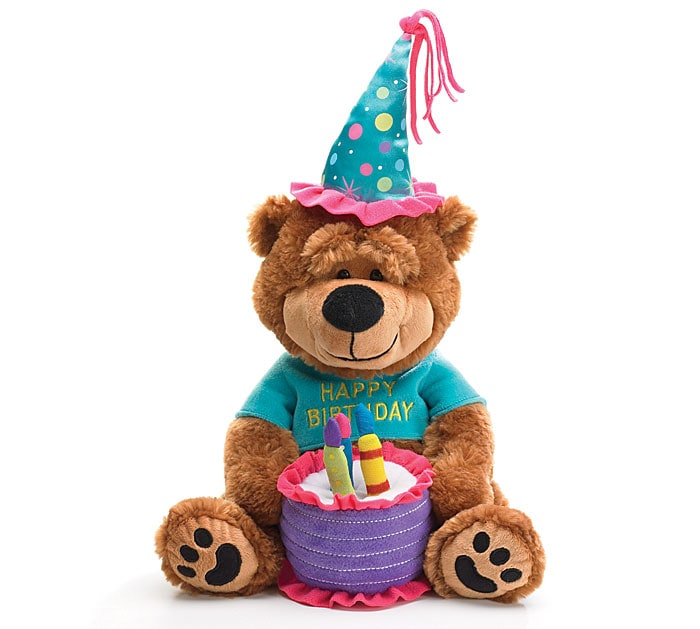 Musical Birthday Bear