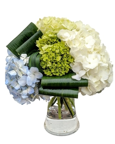 Mighty Hydrangea Flower Arrangement