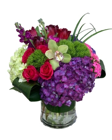Pave Jewels Flower Arrangement