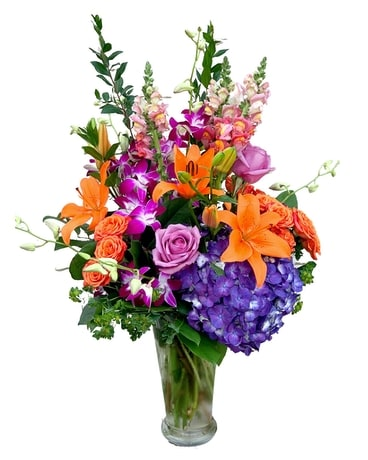 Passion Fruit Flower Arrangement