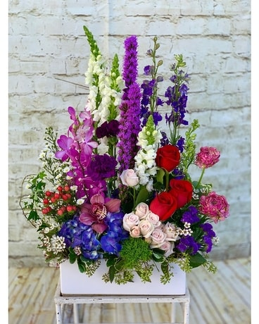 Garden of Love Flower Arrangement