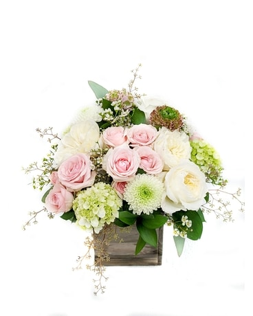Rustic Elegance Flower Arrangement