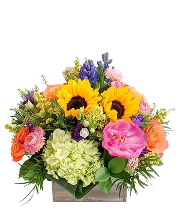 Spring Spectacular Flower Arrangement