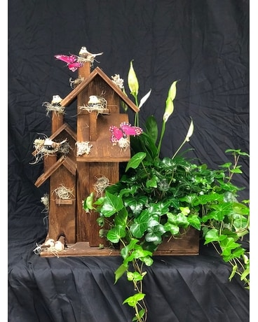 X-Large Birdhouse Planter Custom product