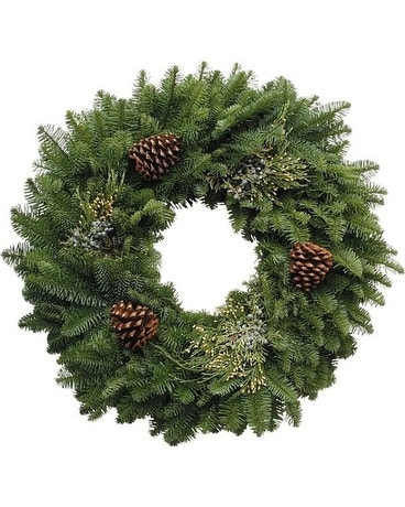 Fresh Mixed Pine Wreath