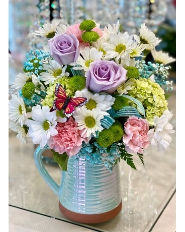 Teleflora's Spring Is Served Bouquet Flower Arrangement
