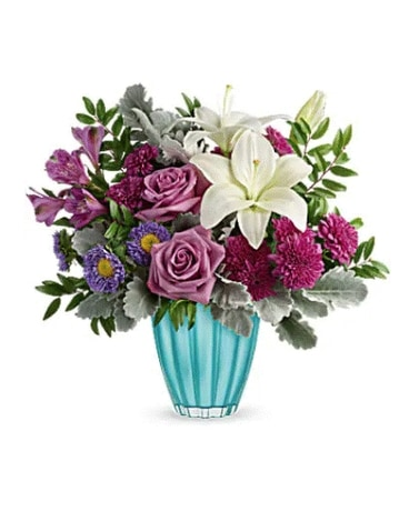 Teleflora's Spring In Your Step Bouquet Flower Arrangement
