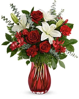Teleflora's Love Conquers All Bouquet Flower Arrangement