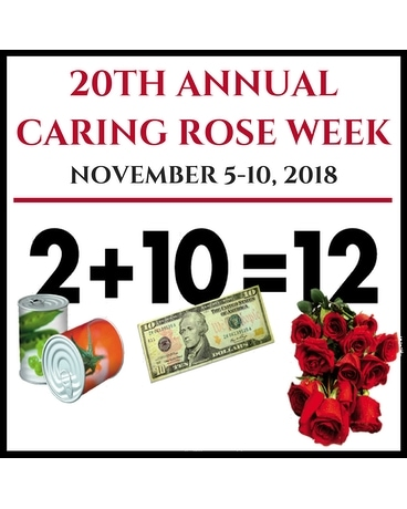 Caring Rose Week Special Custom product