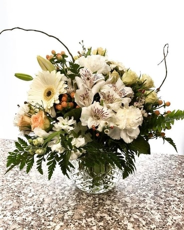 Sauvingnon Blanc Flower Arrangement