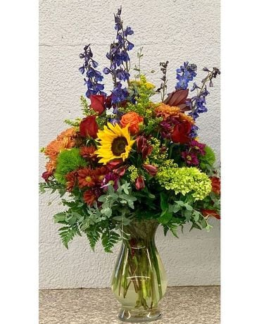 Deluxe Garden Mix Flower Arrangement