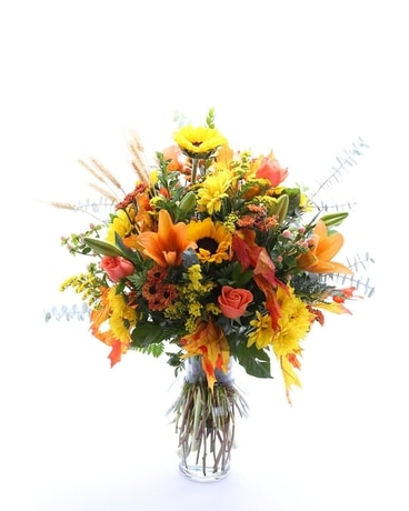 Fall Fancy Flower Arrangement