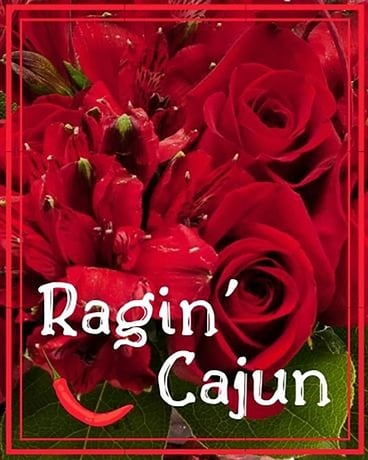 Ragin Cajun Flower Arrangement