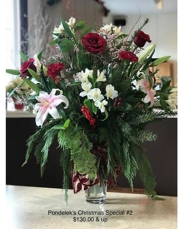 Pondelek\u0027s Florist & Large Vase Arrangement in Hellertown PA - Pondelek\u0027s Florist ...