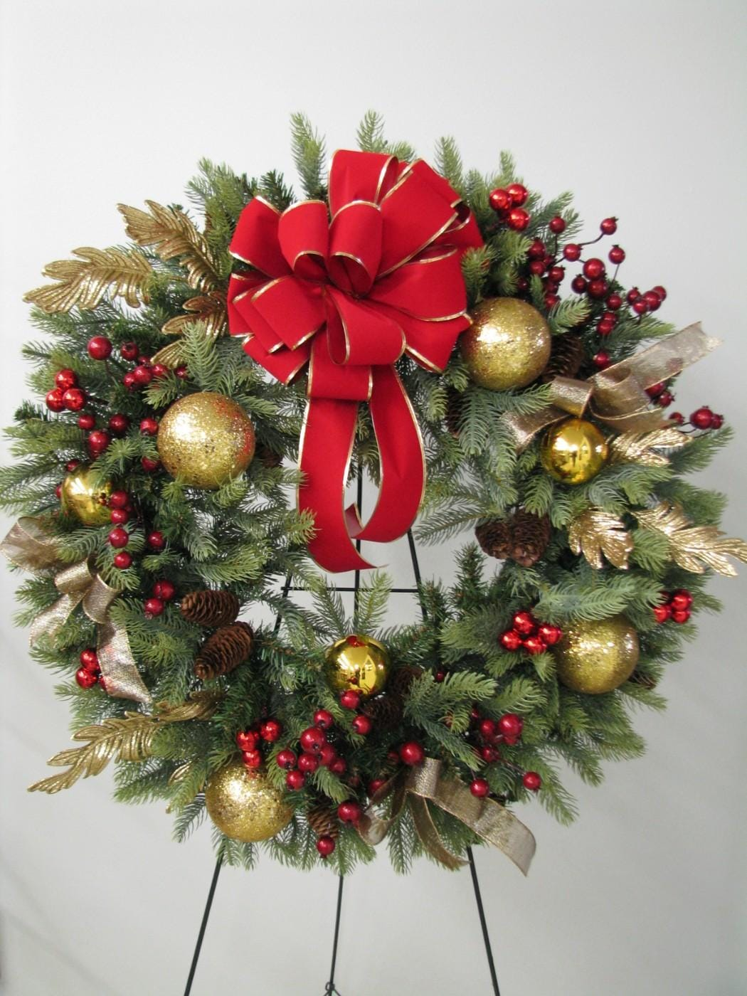Christmas Wreath Design Class