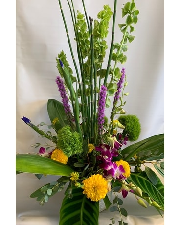 Green Goddess Flower Arrangement