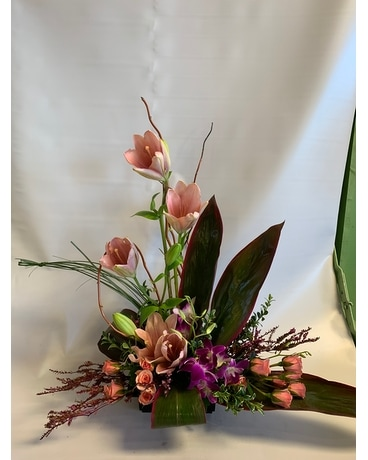 Tropical Island Princess Flower Arrangement