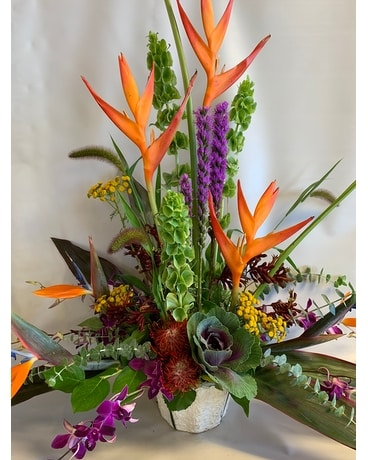 Bali Beauty Flower Arrangement