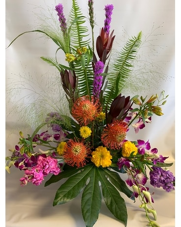 Sunset Sky Bouquet Flower Arrangement