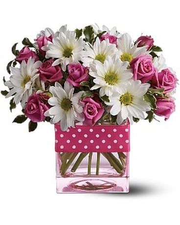 Teleflora's Polka Dots and Posies Custom product