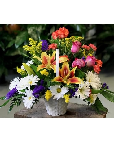 Grandma's Color Garden Flower Arrangement