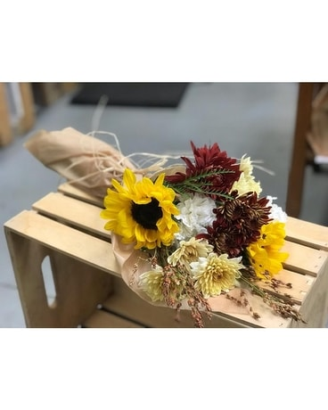 Pick me up bouquet-autumn Flower Arrangement