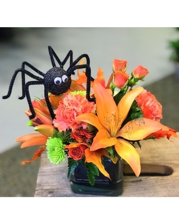 Spiders and Snakes Flower Arrangement