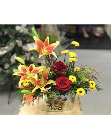 My lily garden Flower Arrangement