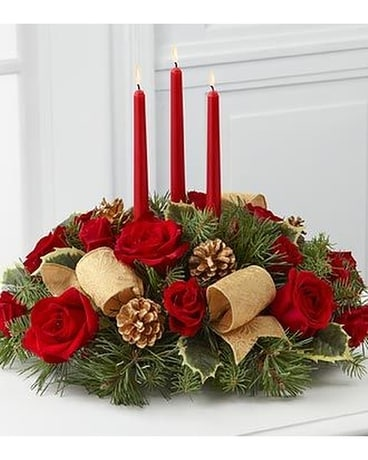 Christmas Celebration ftd Flower Arrangement