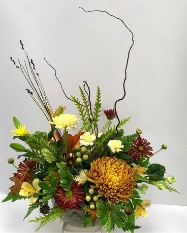 Mountain Harvest Flower Arrangement