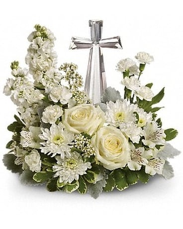 Sympathy bouquets delivery ocean springs ms lady dis telefloras divine peace mightylinksfo