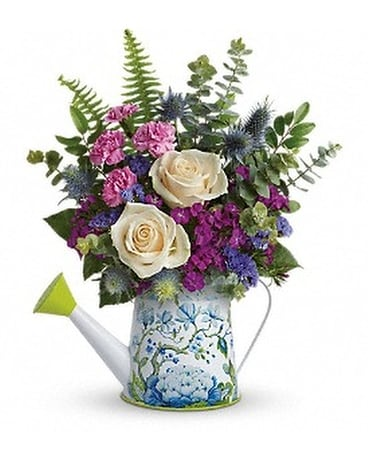 Teleflora's Splendid Garden Bouquet Flower Arrangement