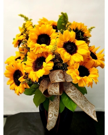 Sunflowers in Bloom Flower Arrangement