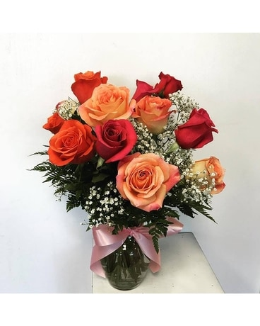 Mixed Rose Special Flower Arrangement