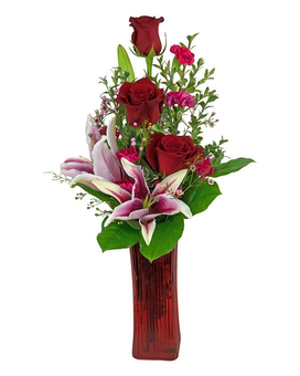 Love Blooms Flower Arrangement