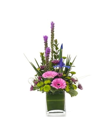 Buds and Blooms Spring In Style Flower Arrangement