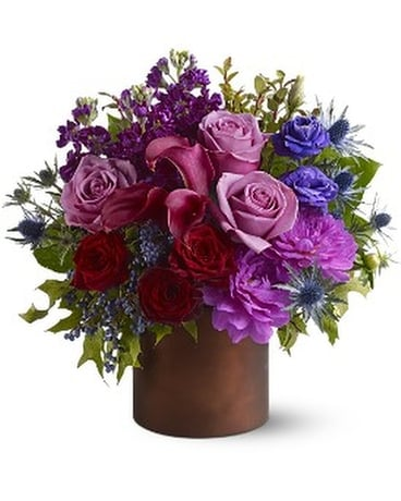 Teleflora's Plum Gorgeous Flower Arrangement