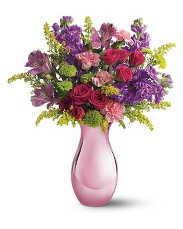 Teleflora's Joyful Garden Flower Arrangement